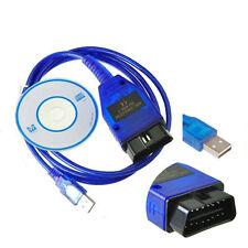 New VAG 409.1 OBD2 USB Auto Diagnostics Scanner VCDS Software for VW Audi JD