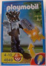 Playmobil Tempelwächter mit oranger Leuchtwaffe 4849 Neu & OVP Leuchtschwert