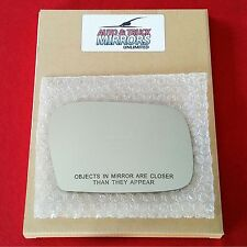 NEW Mirror Glass 00-05 TOYOTA ECHO Passenger Right Side NO LEVER **FAST SHIP**
