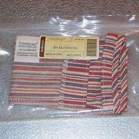 Longaberger Market Stripe SMALL GATEHOUSE Basket Liner ~ Brand New in Bag!