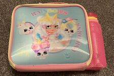 Official Shopkins Rainbows And Unicorns Lunchbox / Lunchbag And Water Bottle Set