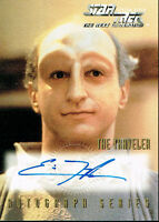 STAR TREK THE NEXT GENERATION SEASON SEVEN AUTO CARD A12 ERIC MENYUK