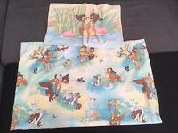 CTI Disney Bambi Flat Sheet/ drap plat+ Pillowcase/ Taie D'oreiller bambi