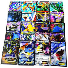 Lot de 60Pcs 2017 Pokemon Go TCG Enorme EX Cartes MEGA COMMON RARE HOLO Cadeau