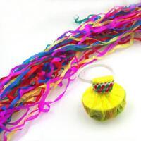 10X throw Streamers multicolor spider thread 30heads magic trick_ X7B0