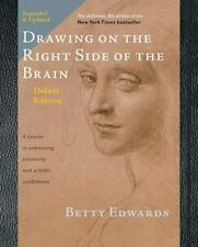 Drawing on the Right Side of the Brain by Betty Edwards (2012, Hardcover,...