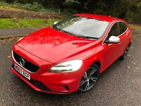 2018 67 VOLVO V40 R DESIGN PRO, 2.0 TURBO PETROL, MANUAL,121 BHP, TOP SPEC, PX