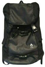 Nixon Watch Landlock II Back Pack BackPack Black Bag New No Tags