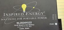 NL2024HU22 14.4V Li-Ion Rechargeable Battery INSPIRED ENERGY S/N 24410 NEW [OF14