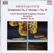 Naxos - Shostakovich / Symphonies No.2 'October' No.15