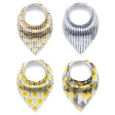 Baby Bandana Drool Bibs for Drooling and Teething 4 Pack Gift Set For Boys Girls