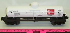Lionel New 68076 Allied Chemicals die-cast tank car whi