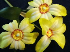 Vintage Millinery Flower Daffodil Narcissus Yellow Ke4