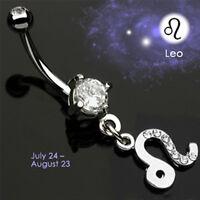 Bauchnabel Piercing Schmuck Sternzeichen Schütze Hänger Horoskop Astro