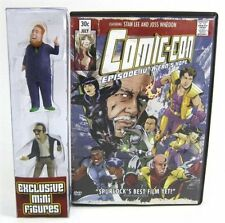 COMIC CON EPISODE IV A FANS HOPE DVD W/ MINI FIGURES STAN LEE & HARRY KNOWLES