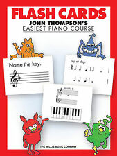 FLASH CARDS - JOHN THOMPSON'S EASIEST PIANO COURSE