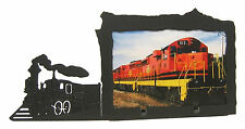 "Train Picture Frame 4""x6"" H"