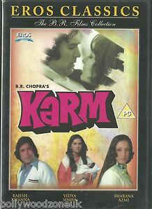 KARM - RAJESH KHANNA - SHABANA - NEW ORIGINALEROS BOLLYWOOD DVD
