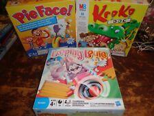 3 tolle Kinder Partyspiele Krokodoc, Pie Face! und Looping Louie