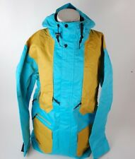 2015 NWOT MENS AIRBLASTER AB/BC SNOWBOARD JACKET $240 L turquoise blue yellow