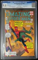 Amazing Spider-Man #700 Marvel Comics CGC 9.8 White Pages Ditko Variant Cover