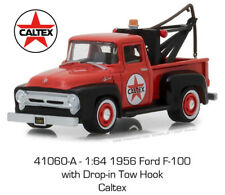 Greenlight Ford F100 1956 with Drop in Tow Hook Caltex 41060 A 1/64
