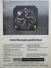 5/1969 PUB SMITHS RADIO MAGNETIC INDICATOR FLIGHT DECK INSTRUMENTS ORIGINAL AD