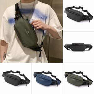 Cross Body Bag Small Chest Bag Casual Men Travel Sport Shoulder Sling Backpack