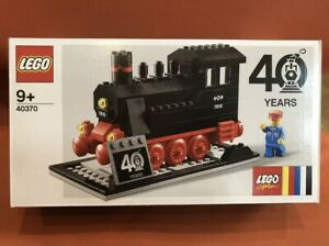 LEGO 40370 Trains 40th Anniversary Limited Edition Promotional Set NEW SEALED