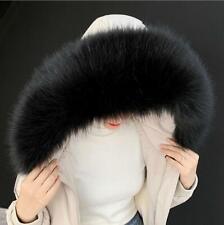 Winter Women Faux Fur Collar For Coat Sweater Down Jacket Hood Scarf Shawl Wrap