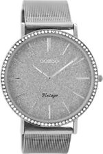 OOZOO Damenuhr Vintage Silberfarben 40 Mm C8891