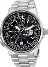 Citizen BJ7000-52E Mens Watch Eco-Drive NightHawk Black Dial Pilot Flight Watch