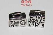 Modeschmuck-Bettelarmbänder & -Anhänger aus Sterlingsilber mit Musik