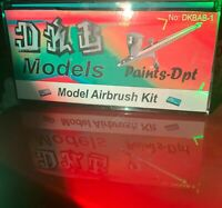 DKB-Models Professional Duel Action Airbrush Kit 0.3 Gravity Feed Model Paint
