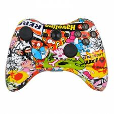 Xbox 360 Custom Wireless Controller (Stickerbomb) (Refurbished)