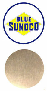 1:24 1:25 SCALE BLUE SUNOCO GAS STATION METAL SIGN BUILDING LAYOUT DIORAMA