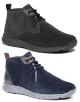 GEOX RESPIRA DAMIAN U940HC scarpe uomo sneakers polacchine pelle camoscio casual