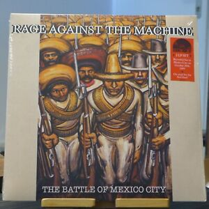 Rage Against The Machine - The Battle Of Mexico City / 2LP RSD 2021 red & green