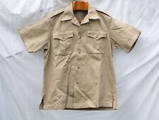 US Shirt man's utility khaki - Medium - 1956