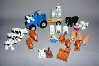 Lego DUPLO Farm Custom Bundle Tractor Animals Figures and parts. Fun play set A