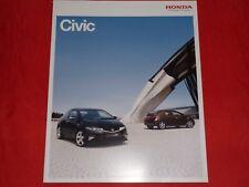 Honda Civic Comfort Sport Executive type s folleto de 2010