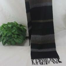 Sale New Vintage Mans Cashmere Wool Warm Striped Scarves Scarf GIFT 78097