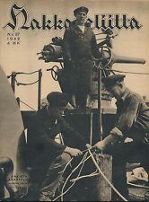 Finland Wartime Magazine Hakkapeliitta 1942 #37 - Finnish War Ship