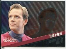 Star Trek Voyager Quotable Starfleets Finest Chase Card F4