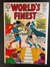 World's Finest Comics #143 Batman Superman Battle VG+ 1964 DC Comics