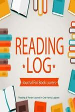 Book Journals: Reading Log Journal for Book Lovers : Reading and Review...