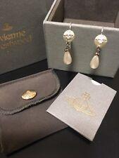 Vivienne Westwood Saturn Silver Earrings
