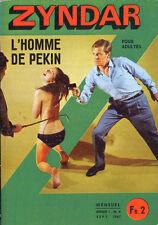 Roman Photo petit format - ZYNDAR n°4 : L'HOMME DE PEKIN - 1967