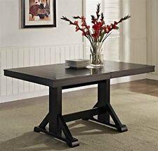 solid wood dining set for sale ebay