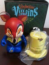 "Honest John from Pinocchio w Hat 3"" Vinylmation Villains Series #2 NEW"
